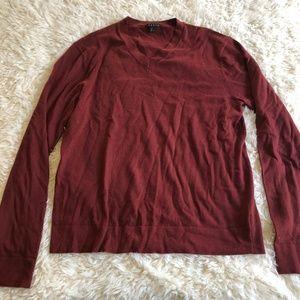 Theory Men's Leiman Classic V-neck Sweater